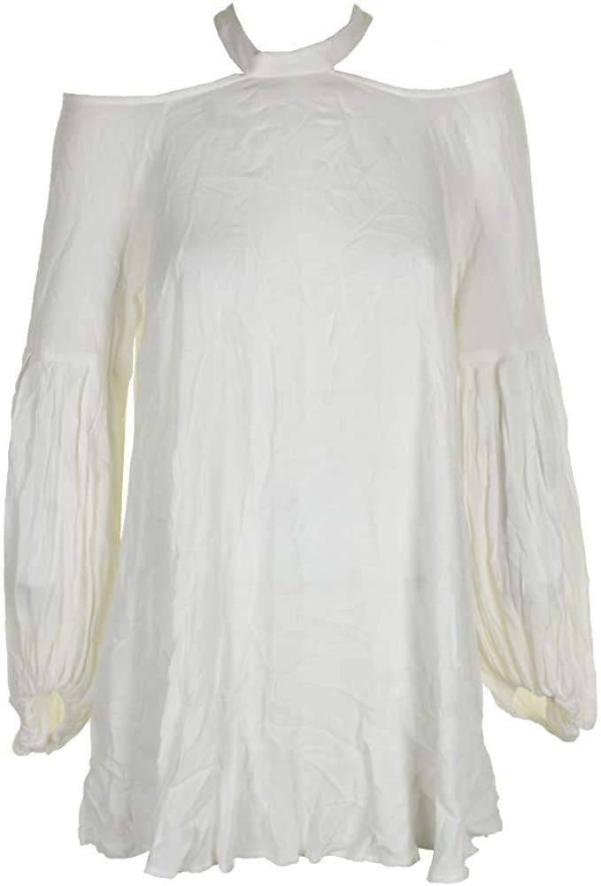 Free People Womens Mini Cold Shoulder Dress