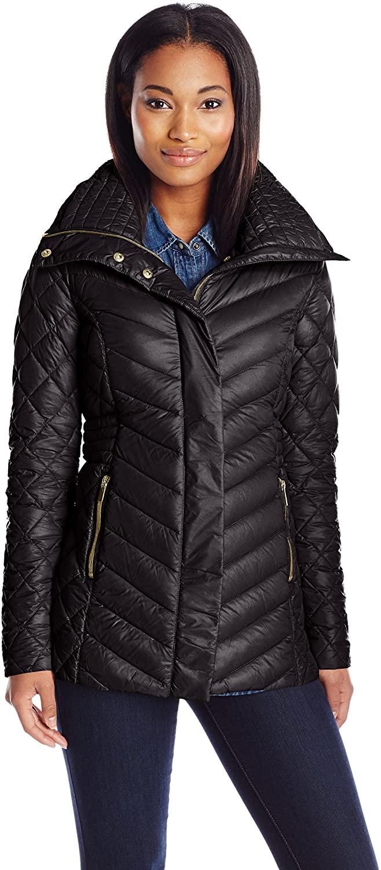 Belle Badgley Mischka Women's Hannah Packable Down Jacket