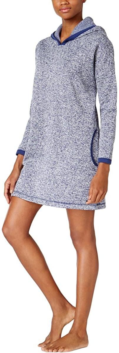 Nautica Womens Lounge Hoodie Pajama Sweater