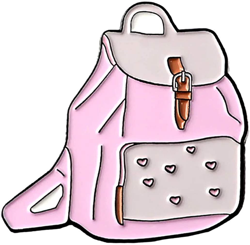 90's Girl Pink Backpack Enamel Pin