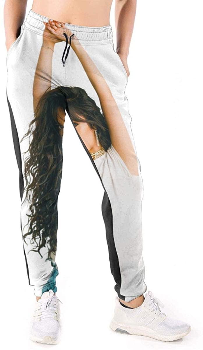 HangHisi Camila Cabello Women's Casual Pants Sweatpants Joggers Pants Sports Trousers