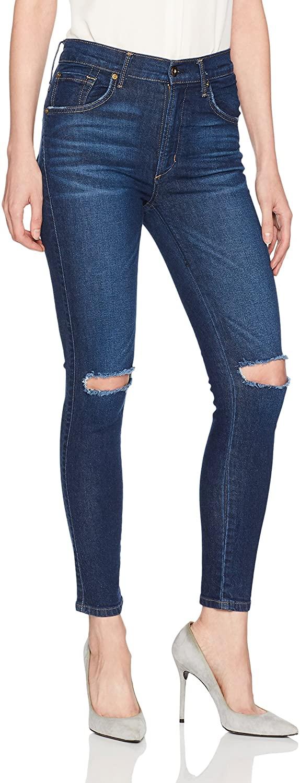 James Jeans Women's High Rise Skinny Ankle Jean in Maverick