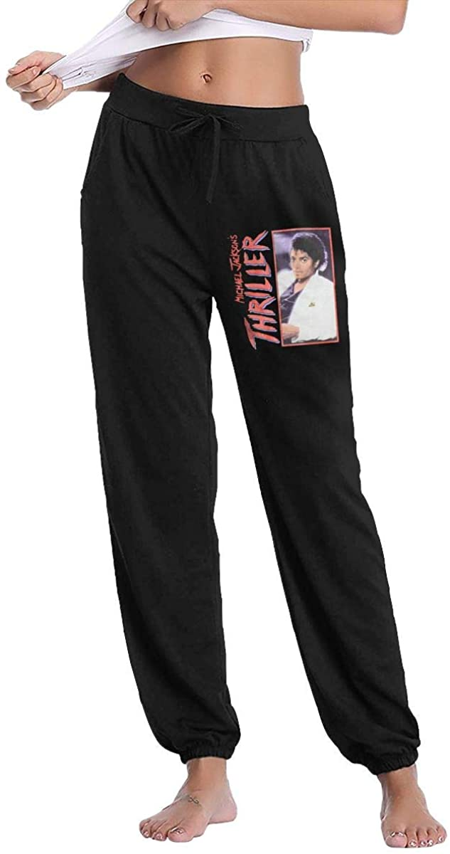 Michael Jackson Thriller Woman Sweatpants Pants Athletic Pants Workout Sport Sweatpants Black