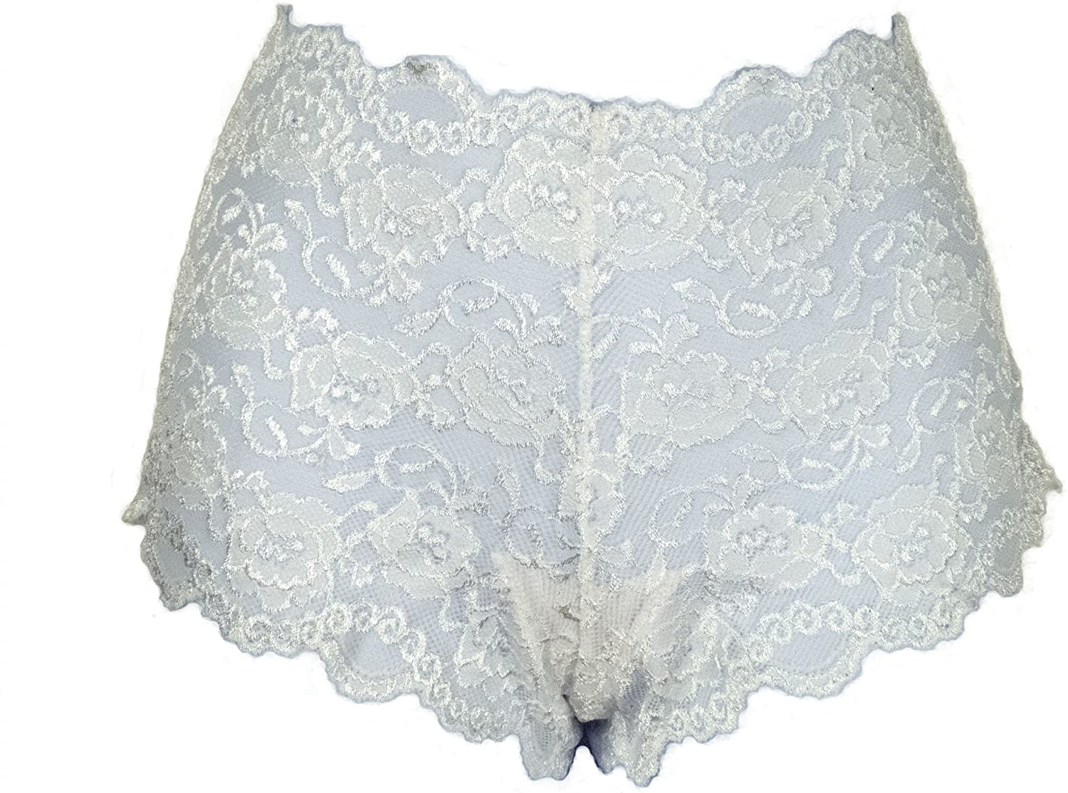 Ally Rose Stretch Lace Boy Shorts Hipsters Hip Huggers