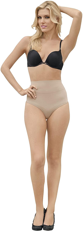 Julie France Womens Leger Ultra Firm Control Mid Waist Panty Shaper