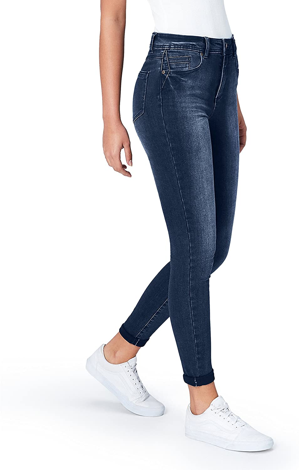 DHgate Brand - find. Women's Skinny Mid Rise Stretch Jeans