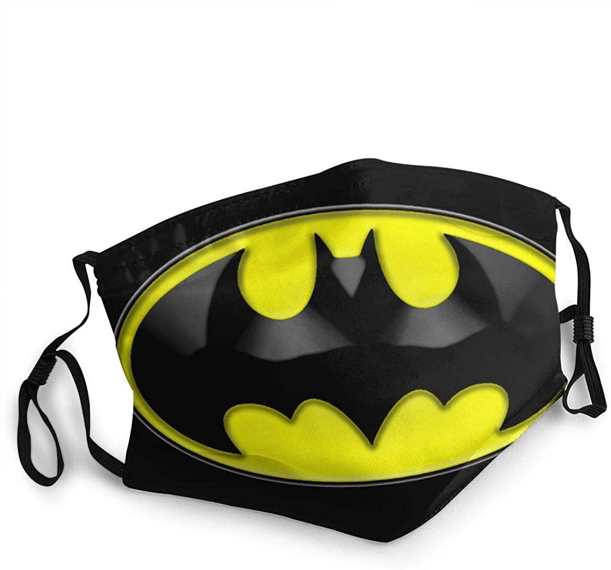 Mikkl Batman Unisex Sun Protection Nose Mouth Mask Bandana Face Covers