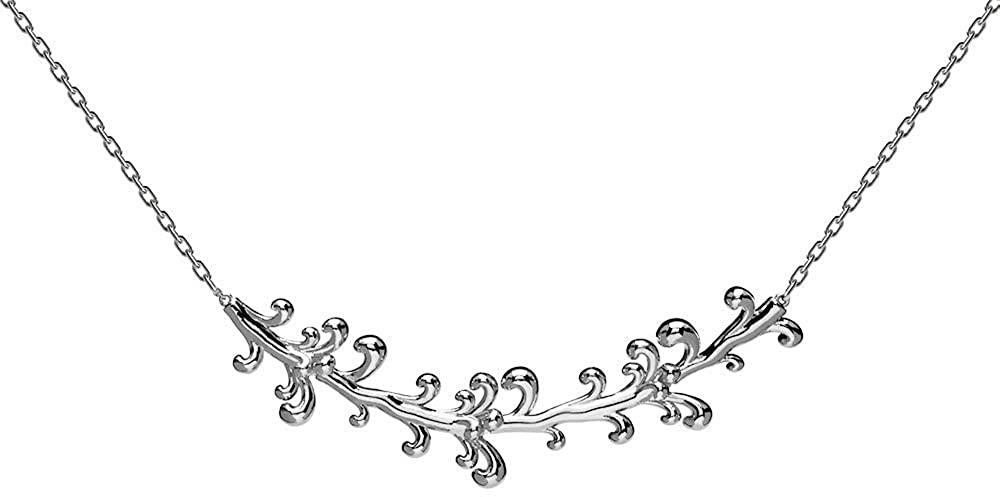 P D PAOLA Pendant CO02-077-U Woman Silver