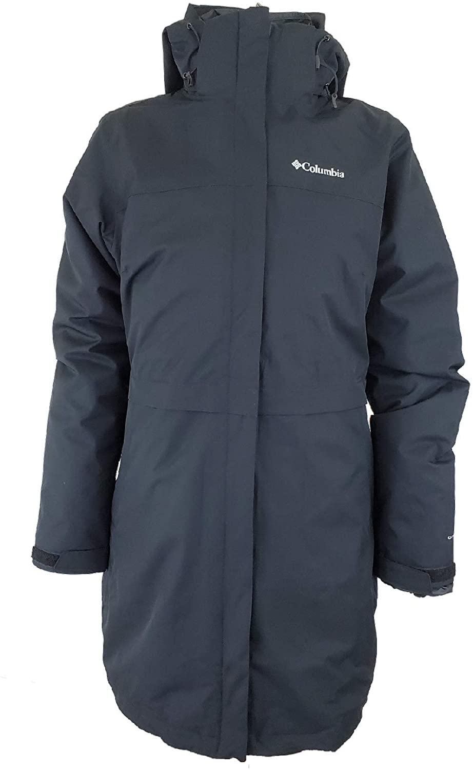 Columbia Women's Long Valley Interchange Omni Heat Waterproof Jacket