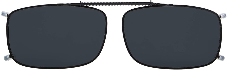 Eyekepper Easyclip Spring Polarized Clip On Sunglasses