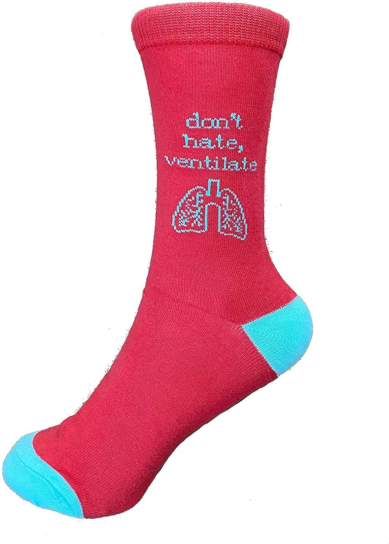 Mid Calf Cut Unisex Socks –