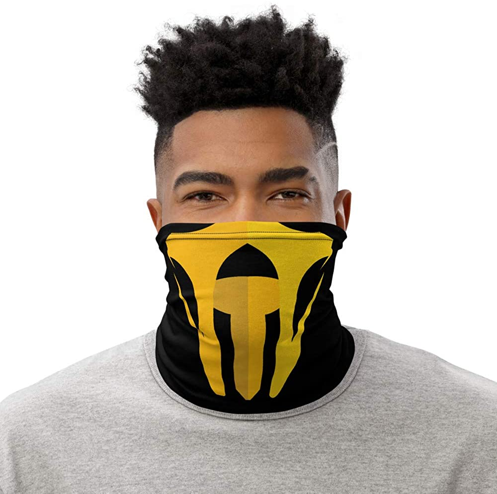Scorpion from Mortal Kombat Face Mask, Face Buff, Bandana, Scarf, Neck Gaiter | Machine Washable