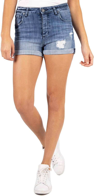 KUT from the Kloth Women's Madeline Boyfriend Shorts in Research