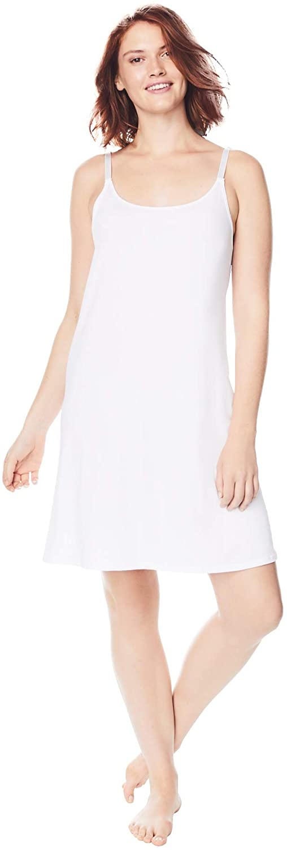 Comfort Choice Women's Plus Size Full Microfiber Slip