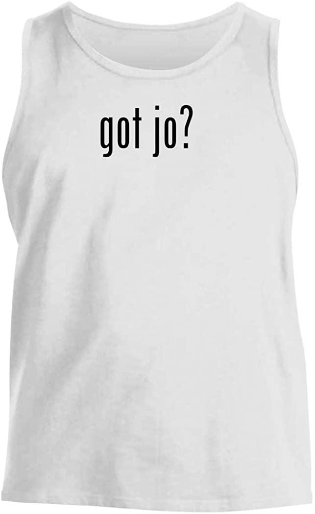 got jo? - Men's Comfortable Tank Top, White, XX-Large