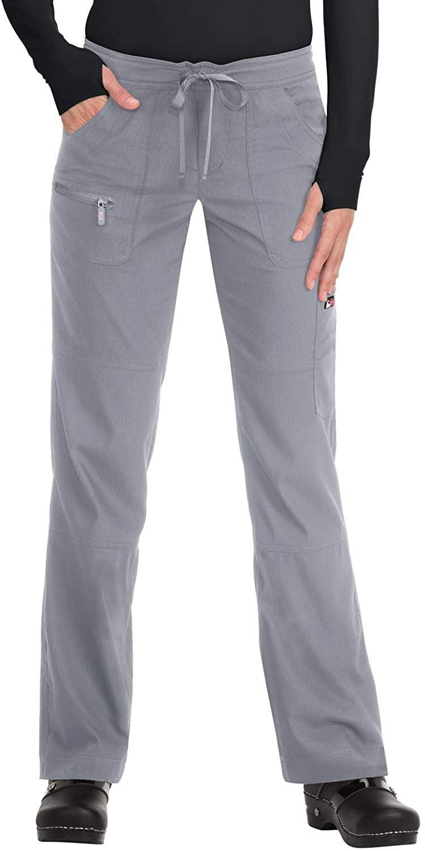 KOI Lite 721 Women's Peace Scrub Pant Platinum Grey XLP