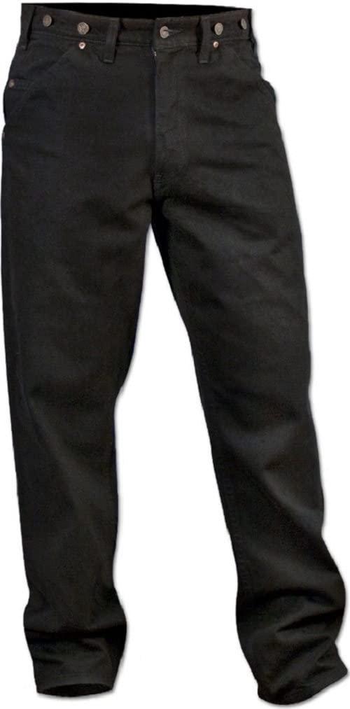 Wild Ass Black Denim Single Knee Pants 3834