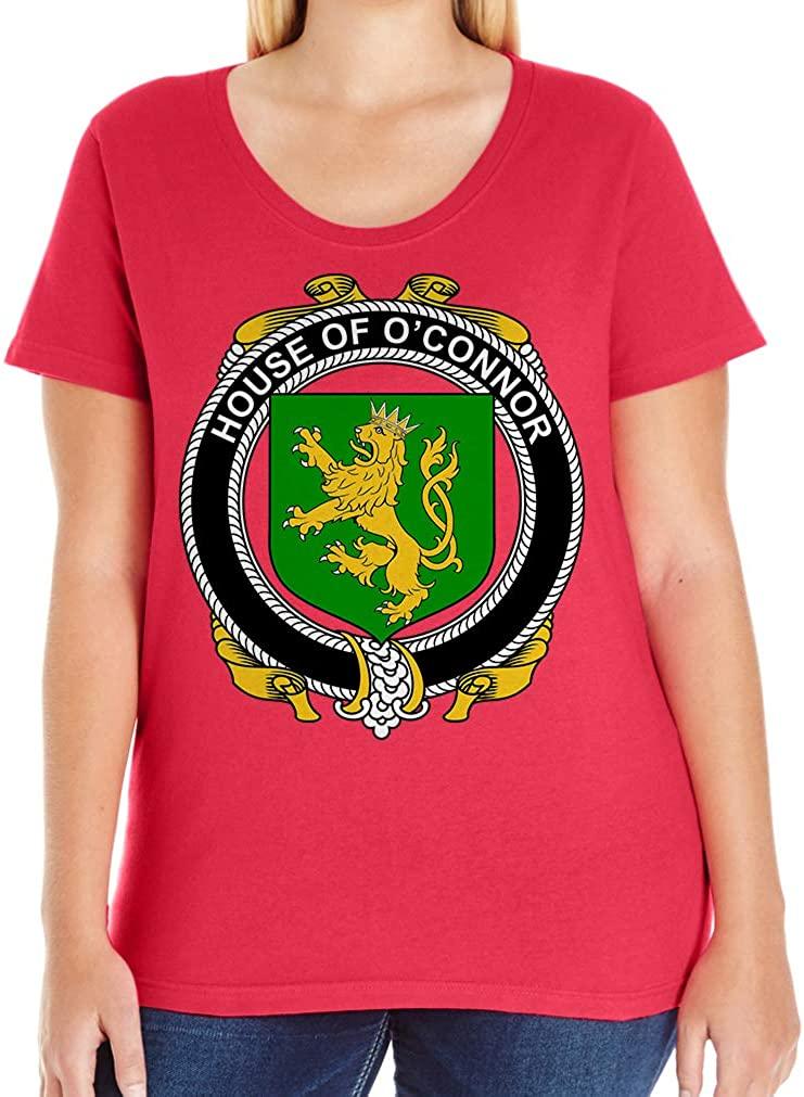 Tenacitee Women's Irish House Heraldry O'Connor (Kerry) T-Shirt