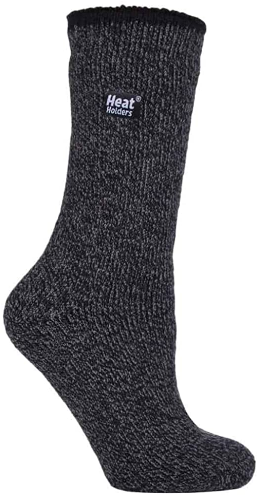 Heat Holders - Womens Thick Durable Warm Heavy Weight Merino Wool Thermal Socks