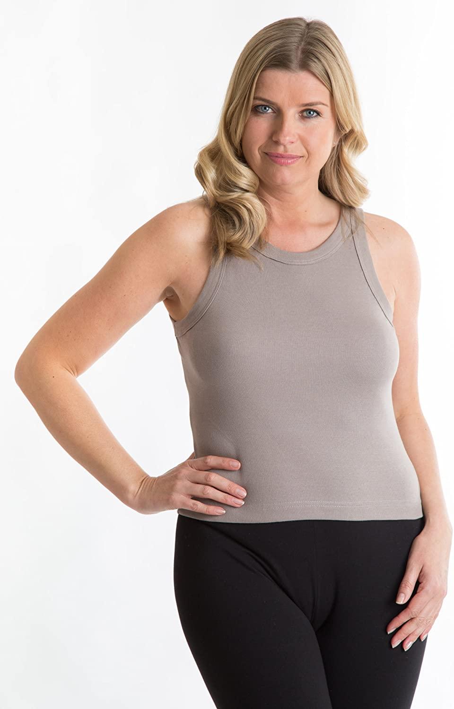 Octave 100% Cotton Ladies Summer Sleeveless T-Shirt/Vest Top - Size 14/16
