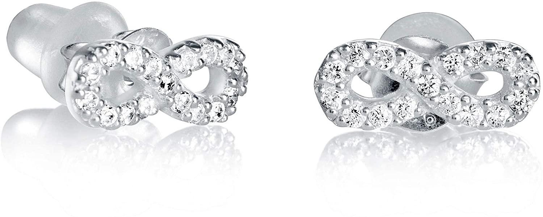 Earrings Viceroy Button 5017E000-30 Woman Silver Zirconia