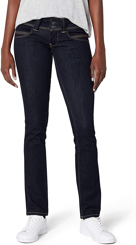 Pepe Jeans Venus Jeans Women Blue / M15 - EU 34 (US 24/32) - Straight Jeans Pants