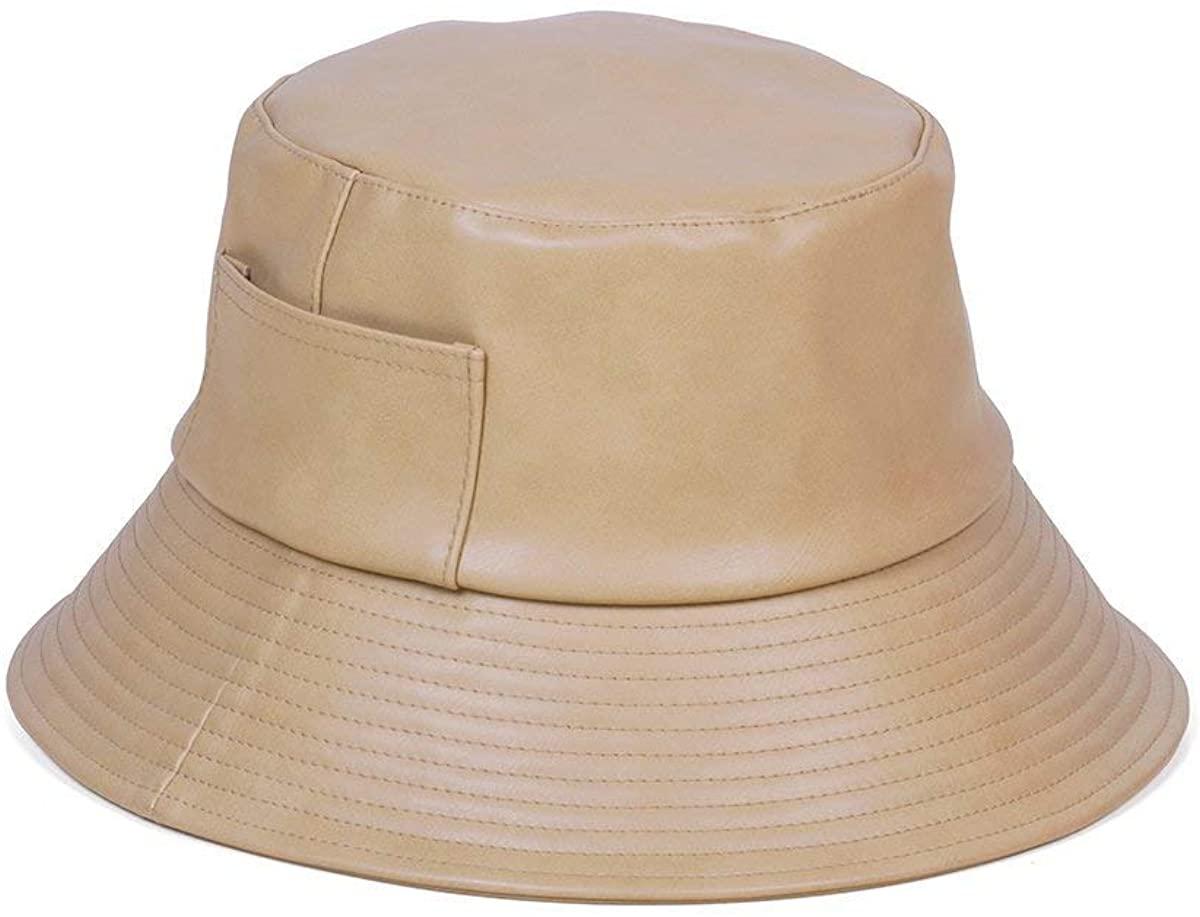 Lack of Color Women's Wave Faux-Leather Bucket Hat