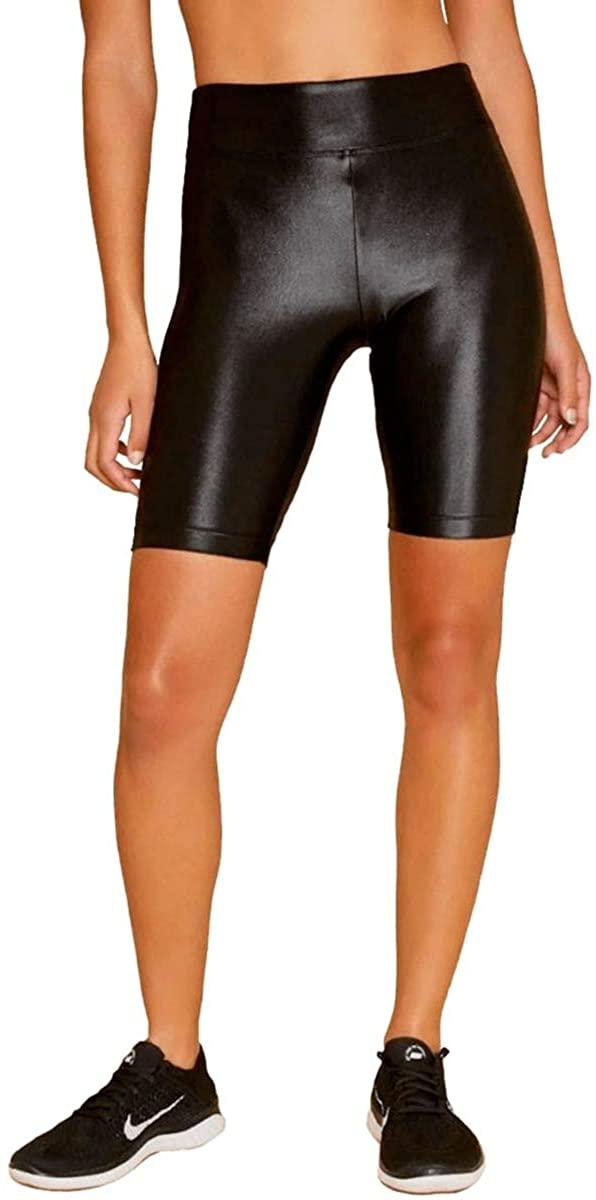 Koral Activewear Densonic High Rise Infinity Short Womens Active Sparkle Yoga Leggings