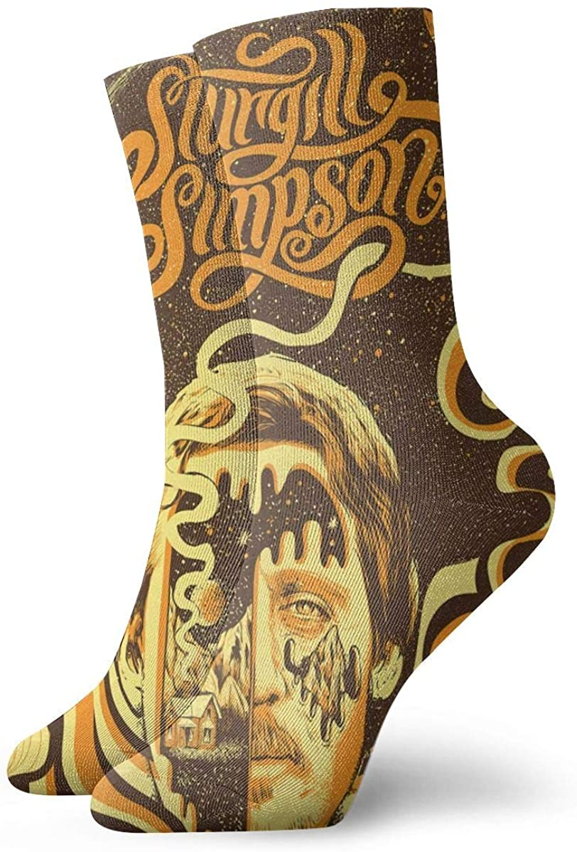 Sturgill Simpson Personality Stylish Short Socks, Comfortable, Breathable, Light And Casual