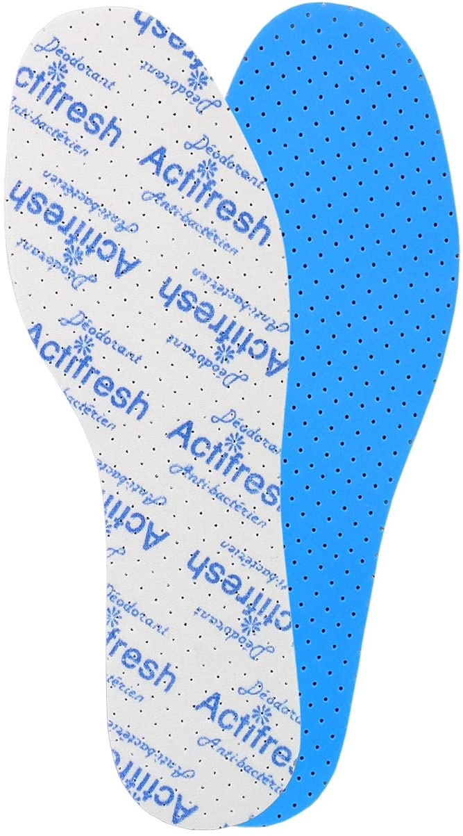Kaps Odor and Bacteria Control Insoles Actifresh - Shoe Insoles Made in Europe (Women/US 5/36 EUR) White