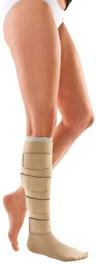 Circaid Juxtafit Essentials Lower Leg Ready to Wear Compression Garment, Compression For Enhanced Blood Flow to Reduce Pain Caused By Lymphedema or Other Circulation Issues, Long, Large