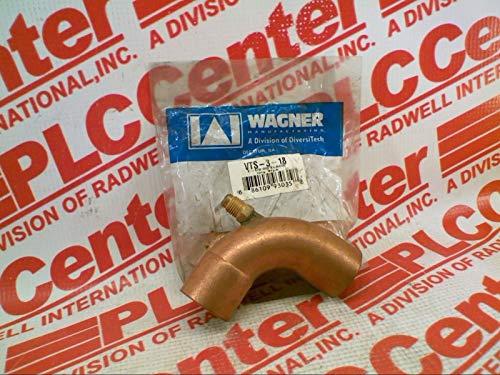 DIVERSITECH VTS-3-18 Conduit Elbow Fitting Solder 1-1/8IN Copper