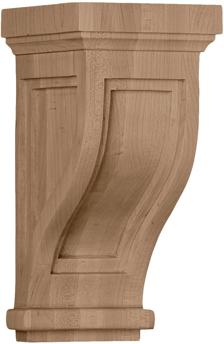 Ekena Millwork COR04X05X10TRAL-CASE-6 Corbel, Factory Primed