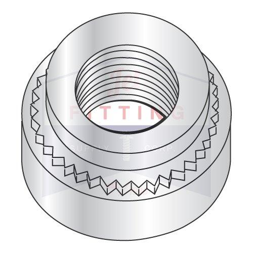 M2.5-0.45-2 Self Clinching Nuts/Steel/Zinc/Shank Height: 1.38 mm | Minimum Sheet Thickness: 1.4 mm (Quantity: 7,000 pcs)