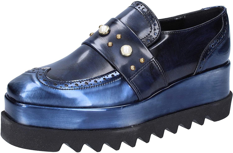 BOTTEGA LOTTI Loafers-Shoes Womens Blue