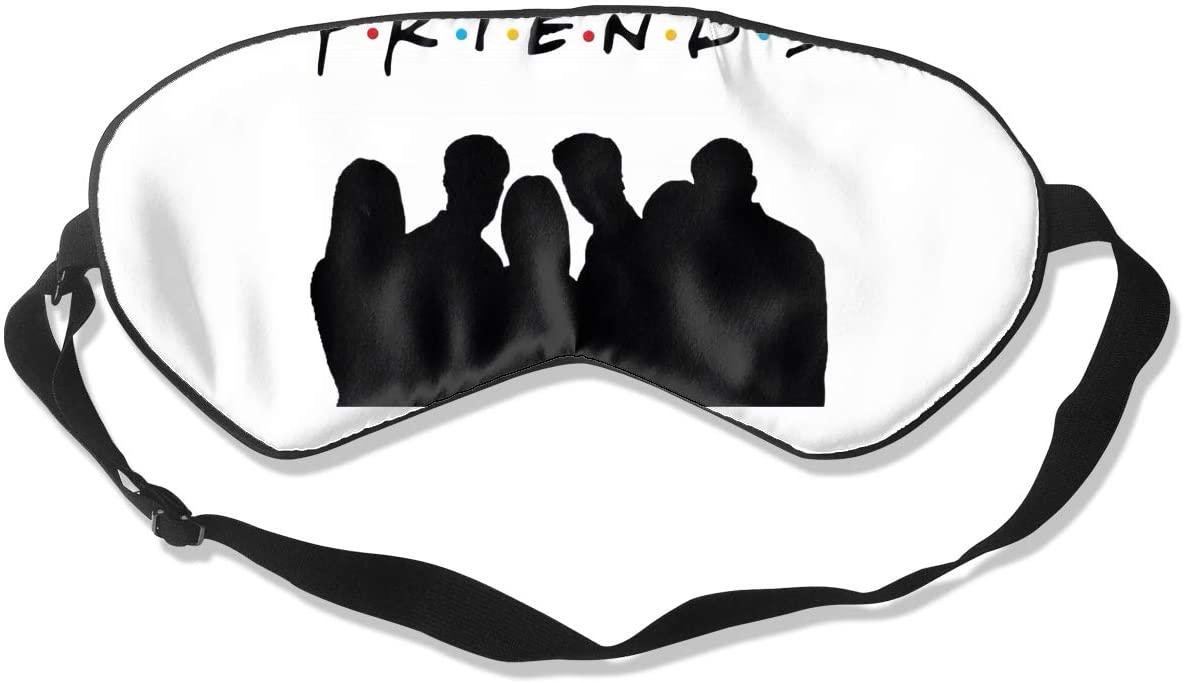 Lucky Person Friends Tv Show Sleeping Eye Mask, Eye Mask Suitable for Sleeping, Eye Mask for Airplane, Travel, Nap, Night Sleep
