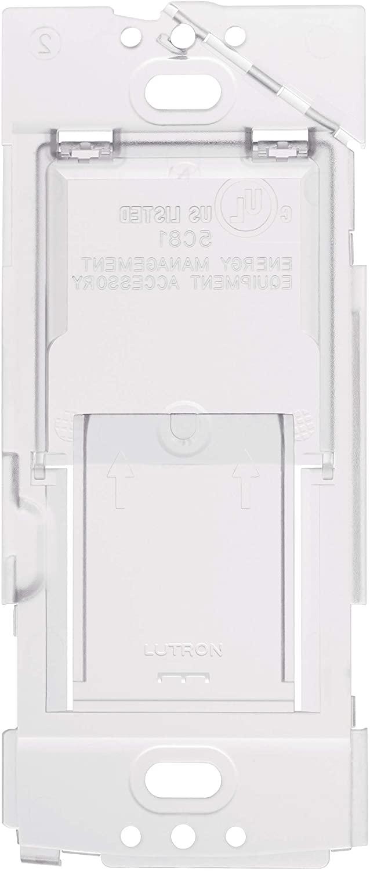 Lutron Caseta Wireless Wallplate Bracket for Pico Remote, PICO-WBX-ADAPT,Translucent
