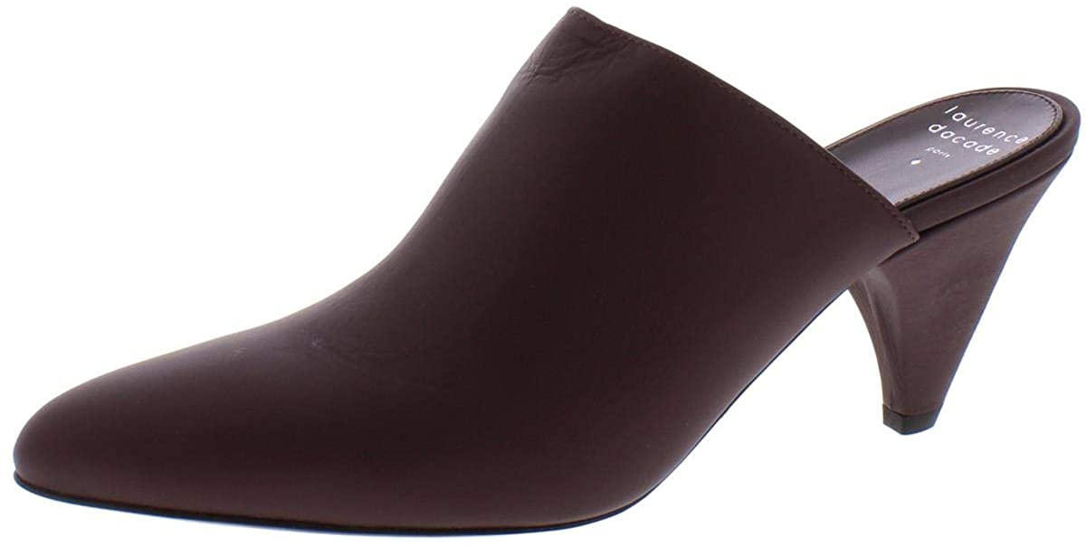 Laurence Dacade Womens Stefany Leather Pointed Toe Mules