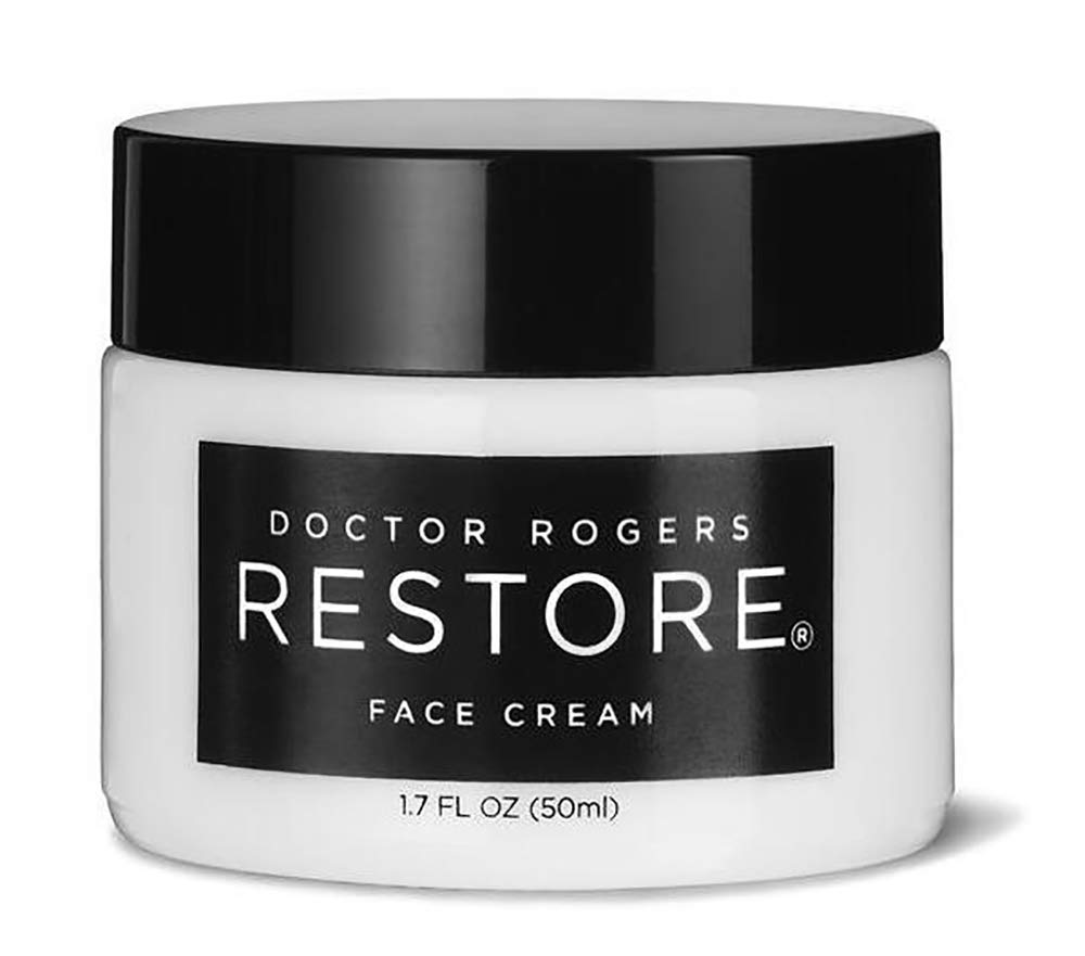 Doctor Rogers - Natural Restore Face Cream | Plant-Based Hydrating Moisturizer (1.7 fl oz | 50 ml)