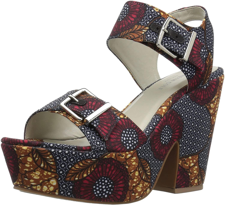 Kenneth Cole New York Womens Shayla Platform Sandal Heeled
