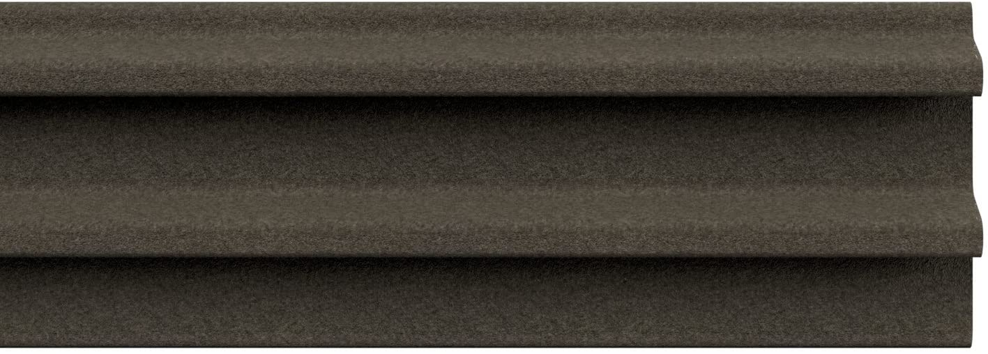 STORMGUARD 05AM023006MB Acoustic Silent and Draught Excluder Self-Adhesive Seal, Brown, 6 m, Set of 2 Pieces