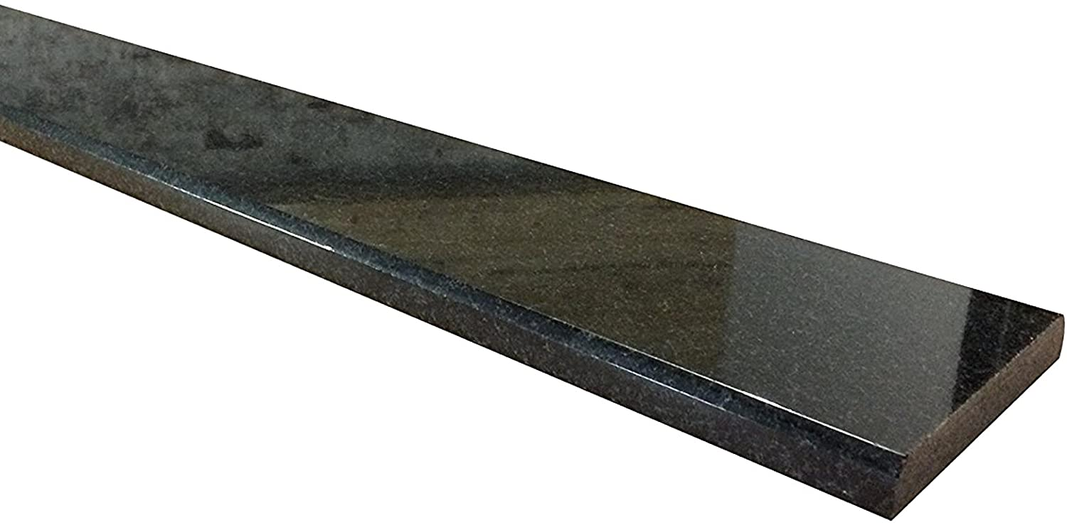 Absolute Black Marble Granite Threshold (Marble Saddle) - Polished - (5
