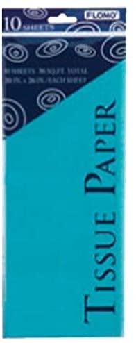 FLOMO Tissue Paper - Aqua (10 sheet)