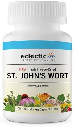 Eclectic Institute St John's Wort -- 300 mg - 120 Capsules