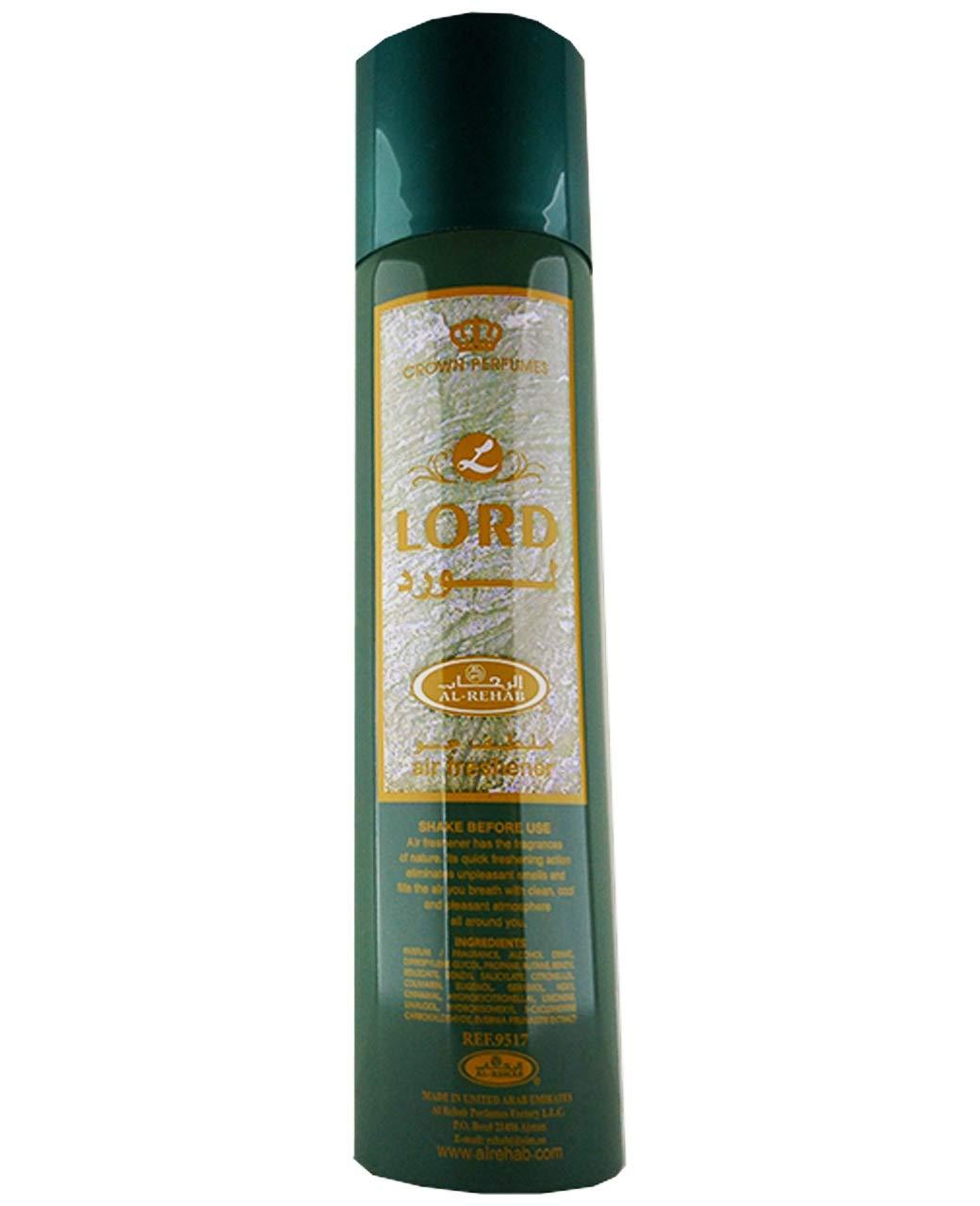 Lord- Air Freshener by Al-Rehab (300ml)
