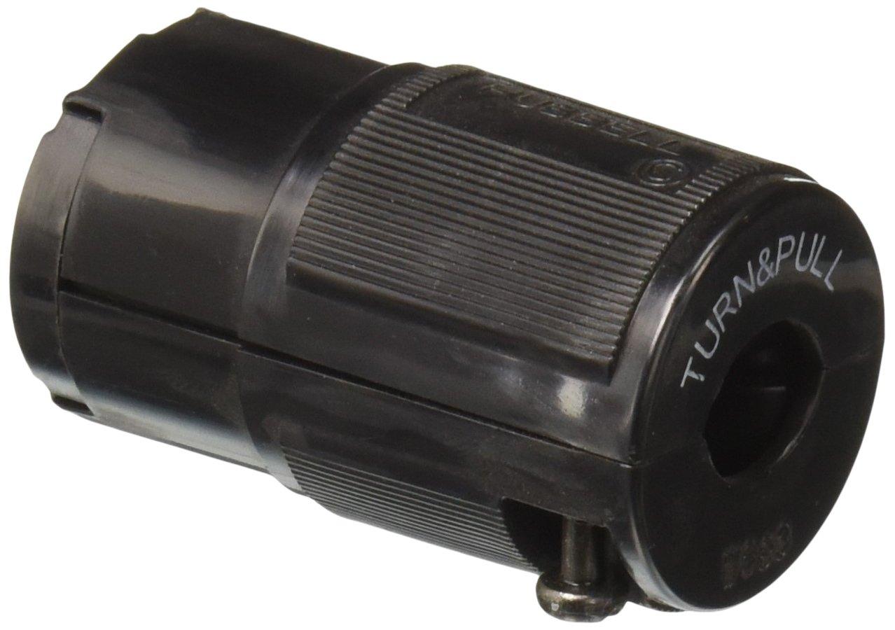 Hubbell HBL7464V Locking Connector, Midget, 15 amp, 125V, Ml-1R