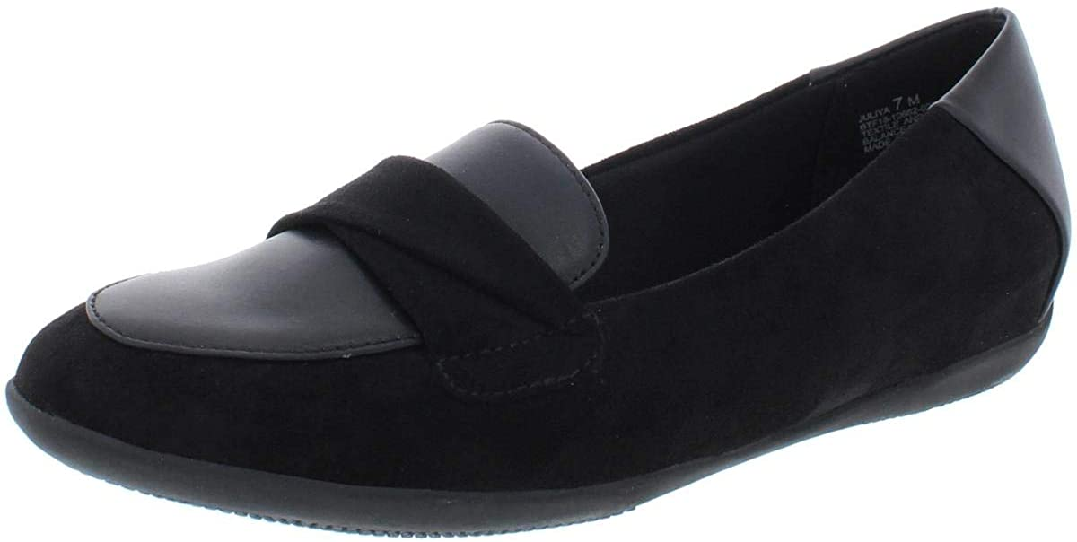 Bare Traps Womens Juliya Leather Closed Toe Loafers