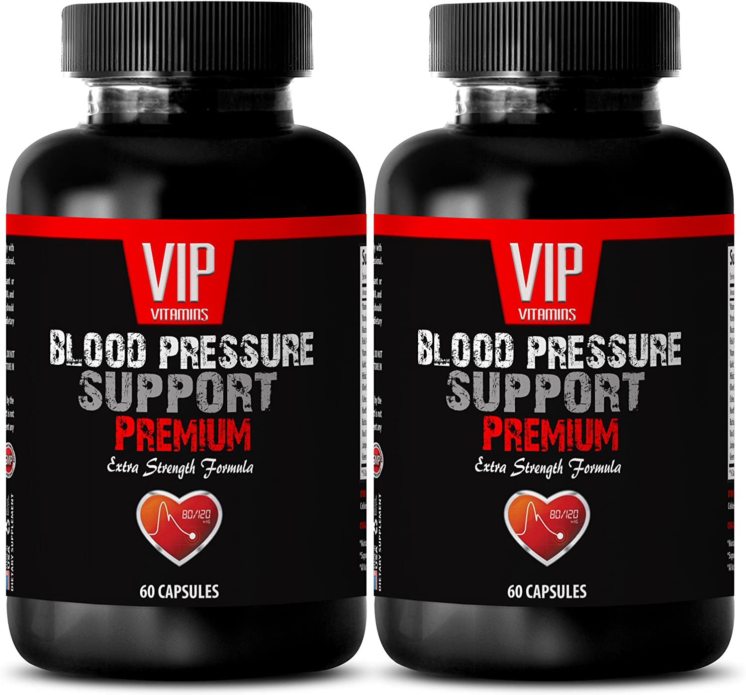Hibiscus Flower Extract - Blood Pressure Support - Eat More Vegetables (2 Bottles - 120 Capsules)