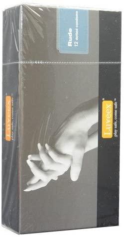 Luveex Rude Dotted Condoms 12's