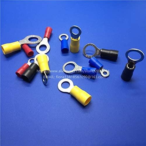 Onvas RV5.5-4 Circular pre-insulating Cold terminal Round shape wire crimp terminals - (Color: BLUE)